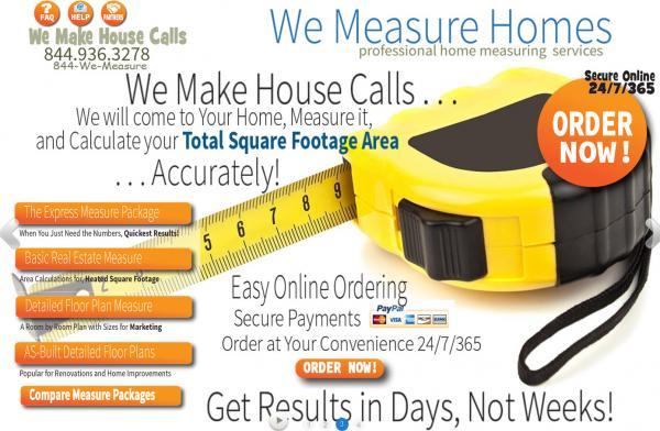We Measure Homes